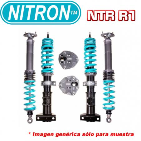 Audi A3/S3/RS3 8P, VW Golf 5/6 GTI, Seat León 1P Cupra B16 CLUBSPORT 2 way suspensión roscada coilover
