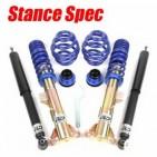 Suspensiones Stance Spec. Audi S3 8L. Suspensiones de cuerpo roscado de altura ajustable con taraje fijo amortiguador idóneas para stance y tuning