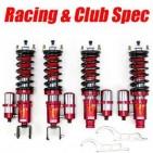 Suspensiones Racing Spec. Alfa Romeo 147. Suspensiónes de carreras con especificaciones Clubsport para la práctica de Track days duros en circuito (Hard Track) y especificaciones Racing para asfalto (Rallye y subidas)