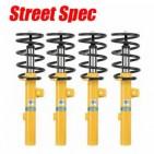 Suspensiones Street Spec. Alfa Romeo 4C. Suspensiones con especificaciones street para uso prioritario en calle, kits muelles, amortiguadores sport, sport kits muelle y amortiguador y sets de cuerpo roscado