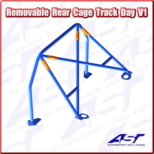 AST TRACK DAY REAR CAGE V1 REMOVABLE
