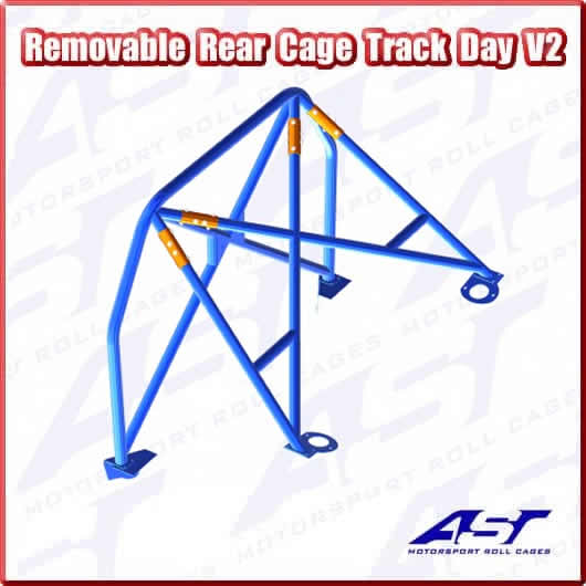 AST TRACK DAY REAR CAGE V2 REMOVABLE