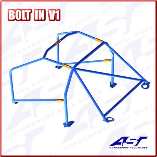 AST ROLL CAGE MOTORSPORT BOLT IN V1