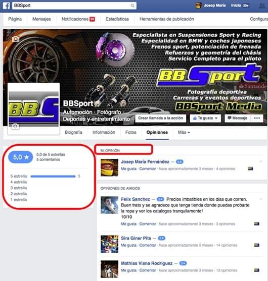 Facebook BBSport