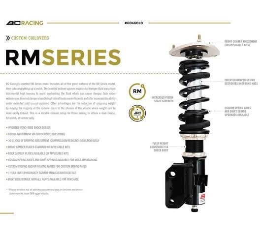 Suspensiones BC Racing type RM